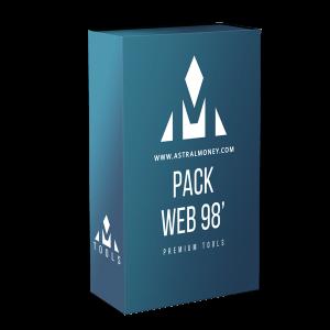 Paquete de recursos Web Vintage